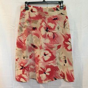 Liz Claiborne silk skirt